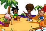 играйте в Банджа бэнд