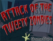 Игра Attack Of The Tweety Zombies