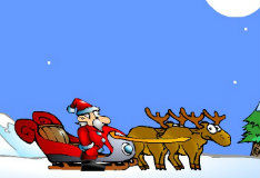 Sleigh With Gift