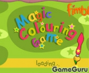 Magic Colouring Game