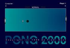 Игра Pong 2000