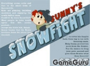Игра Sunnys Snowfight