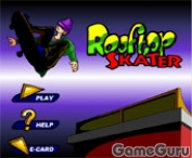 Игра Rooftop Skater
