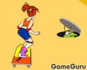 Игра Skateboard Girl