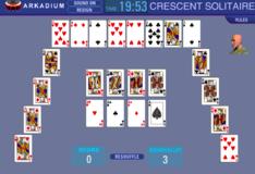 Игра Игра пасьянс полумесяц
