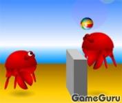 Игра Crab Ball