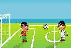 Игра На двоих: Soccer Physics