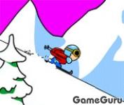 Aggressive Alpine Skiing