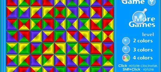 Игра Поворот блоков