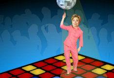 Игра Dancing Hillary