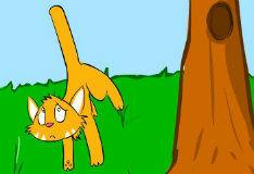 Игра Cat Fling