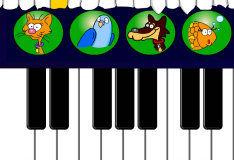 Игра Пианино зверей