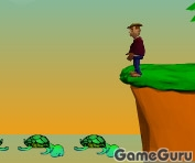 Игра The Turtle Bridge