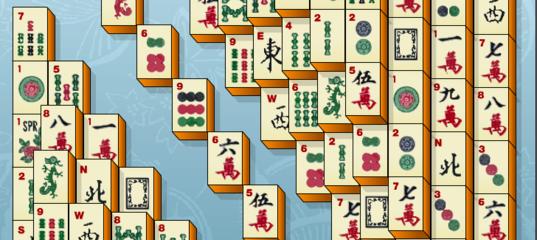 Игра Shanghai Mahjongg