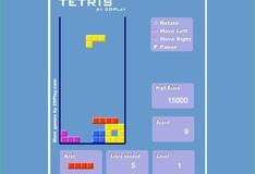 Игра Игра Ретро Тетрис 2Д