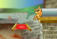 Игра Cat-Vac Catapult 2