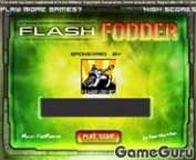 Игра Flash Fodder