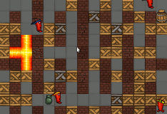Игра Fire and Bombs!!!