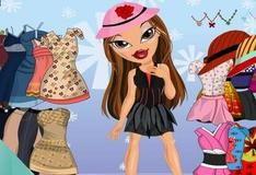 Игра Переодевание куклы Саши