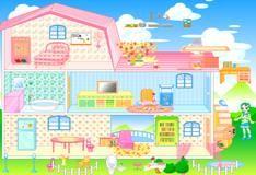 Игра Дом Барби