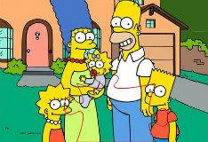 Игра Мозаичные Симпсоны