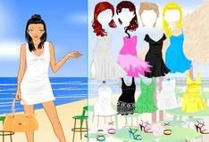 Игра Одевалки на пляже