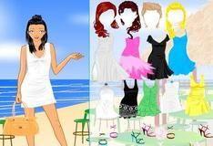 Одевалки на пляже