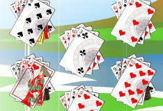 Игра Free Solitaire Galaxy