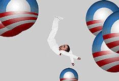 Игра Falling Obama
