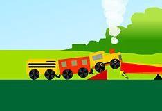 Игра Для мальчиков: паровозики