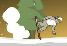 Игра Downhill Snowboard 3