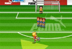 Игра Футбол: штрафные удары
