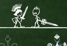 Игра BlackBoard Fight