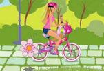 играйте в Барби на велосипеде