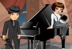 Игра Gangster Couple Dress Up