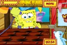 Игра Спандж Боб на карнавале