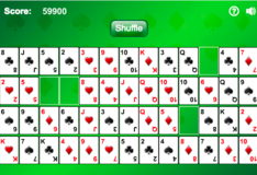 Игра Игра Пасьянс с пробелами