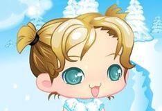Игра Snow Baby Girl
