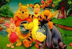 Игра Винни Пух и его друзья: Пазломания