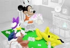 Игра Цветная страница Гуффи и Дональда
