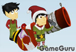 Игра Christmas Cannon Blast