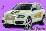 Игра Audi Q5 Car Coloring