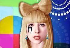 Макияж для леди Гага