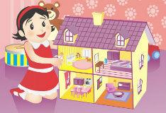 Игра Строитель кукольного дома