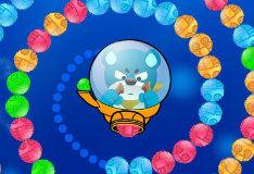 Игра Медведь и шары