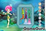 Игра Одень морскую принцессу