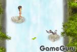 Прыжки на водопаде
