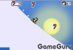 Игра Пингвиний сноуборд