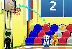 Игра Мировые чемпионы по баскетболу