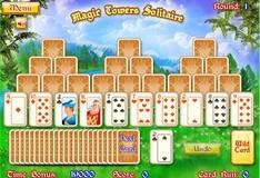 Игра Игра Солитер - Магическая башня